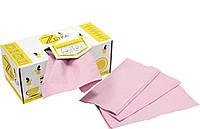 Бумажные полотенца Z розовые 180шт/уп (диспенсер)