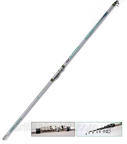 Удилище форелевое Lineaeffe Platinum Trout (кольца SIC) 3.90м до 10-20гр. вес250гр
