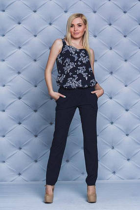 Костюм женский летний с брюками, фото 2