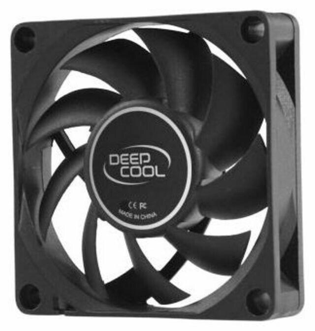 Вентилятор 70мм Deepcool XFAN 70 70x70x15мм HB 3000+-10% об/мин 30дБ черный