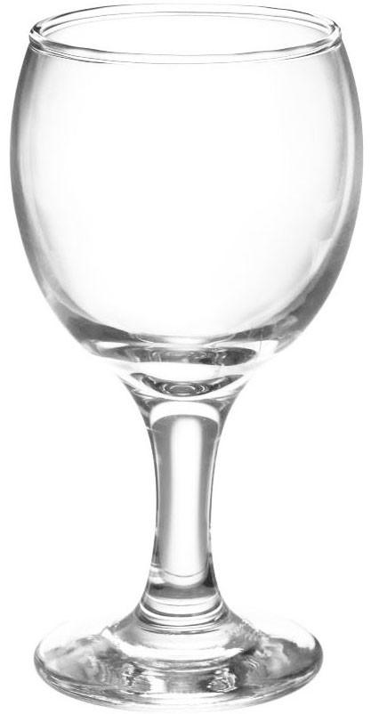 Бокал стеклянный для вина 280мл. KOUROS