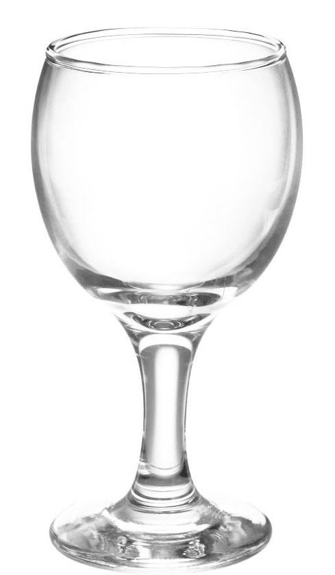 Бокал стеклянный для вина 220мл. KOUROS