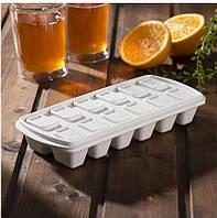 Форма для льда с силиконовой крышкой Plast Team