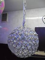 Люстра, хрусталь, 1 лампа, подвесная