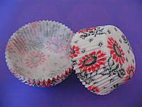 Тарталетки (капсулы) бумажные для кексов, капкейков Вышиванка 2