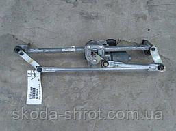 1Z1 955 119 A Трапеция механизм моторчик стеклоочистителя Шкода Октавия А5 1Z1955023 C