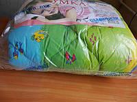 Одеяло синтепоновое детское с красочной расцветкой 110х140