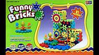 Детский развивающий конструктор Funny Bricks (Фанни Брикс) 81 деталь