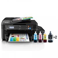 Принтер струйный МФУ Epson L655 фотопринтер, Wi-Fi
