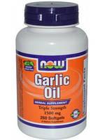 NOWЧесночное масло Garlic Oil (250 softgels)