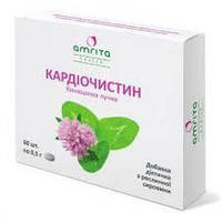Кардиочистин -для укрепления сосудов и профилактике атеросклероза. (60 табл.,Амрита, Украина