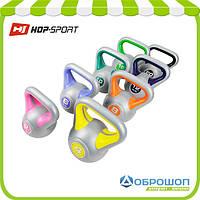 Набор с 8 гирь виниловых Hop-Sport 78кг, фото 1