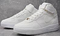 Кроссовки мужские Nike Air Force High White D1617 белые