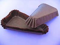 Тарталетки (капсулы) бумажные для десертов Коричневые (115*60*20 мм)