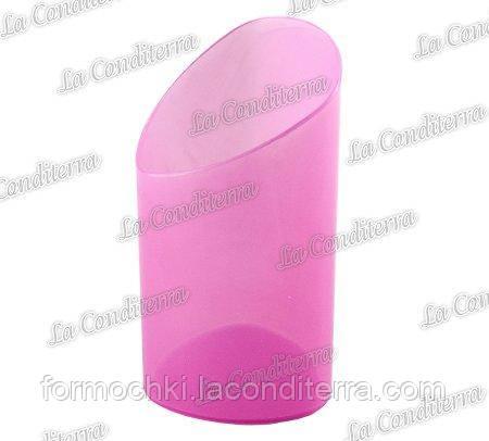 Пластиковый розовый стакан для десертов Martellato PMOCO08.21 (80 мл)