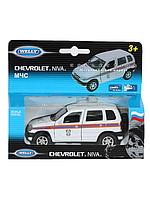 Модель металлическая CHEVROLET NIVA МЧС 42379RE-W WELLY