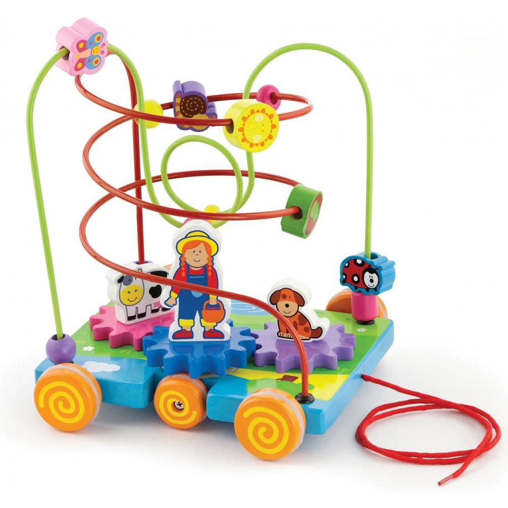 Пальчиковый лабиринт Машинка Viga toys (50120)