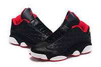 Мужские баскетбольные кроссовки Nike Air Jordan Retro 13 Low Black Red White