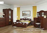 Спальный гарнитур Стелла (натуральная древесна). Производитель мебельная фабрика Скиф