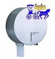 Держатель туалетной бумаги Mediclinics Jumbo Industrial глянцевый для рулонов 275 мм
