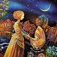 Схема для вышивки бисером «Колыбельная на ночь»