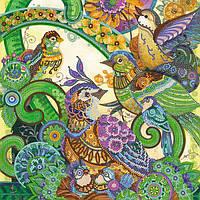 Схема для вышивки бисером «Весенние трели»