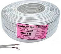 Комбинированный кабель КВН-2 3C-2V (0,5Сu/32x0,12CCA) + 2x0,51мм.кв.Cu