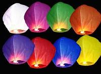 Небесный фонарик Купол (цвета в ассортименте)  101