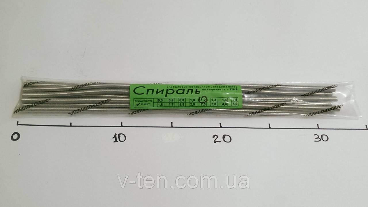 Спираль 1200w (нихром Х12Н80)