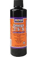 NOW Омега 3-6-9 Omega 3-6-9 (473 ml)