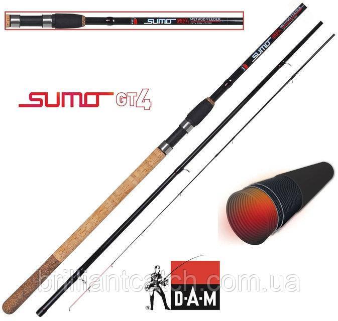 Фидер DAM Sumo GT4 Method Feeder 3.90м 100гр