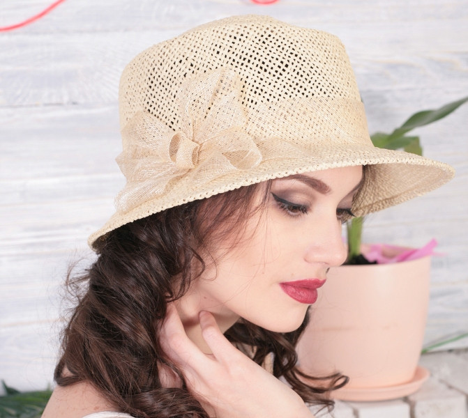 Летние шляпы Helen Line  модель 206-3