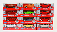 Модель металлическая 1:60-64 58120-24WD-IN-14- (A,B) WELLY SK 58120W-A Skoda