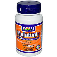 NOW Foods Melatonin 3mg 180 lozengels