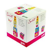 Goki Кубики картонные Учимся считать, арт. 58508