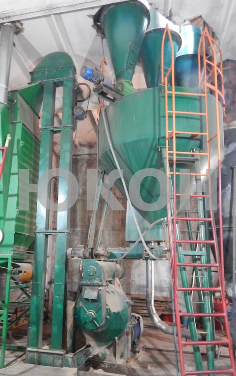 Линия гранулирования древесного сырья от 800 кг\час (опилка)