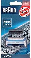 Ножевой блок для бритвы Braun 20S (2000 Series)(сеточка+нож)