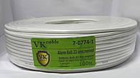 Кабель сигнальный VKcable 8ж без экрана CCA 100м