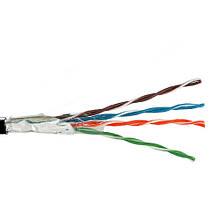 Кабель FTP(PE) Сat.5e KW-Link 4х2x(0.48мм CCA), наружный, чёрный, 305м