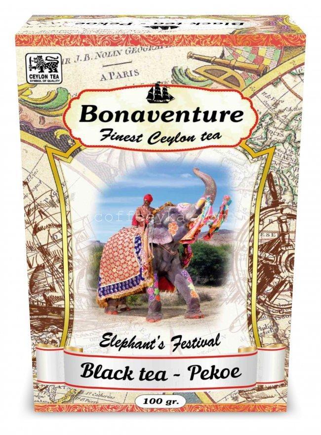 Чай чёрный  Bonaventure Рekoe 100г