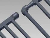 Трубопроводная система для обогрева и охлаждения стен и потолков Aquatherm Black Pipe (Climasystem)