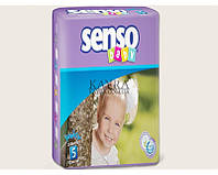 Подгузники Senso Baby Junior 5 (11-25 кг), 34шт