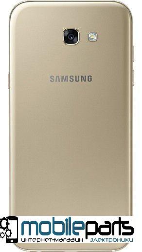 Задняя панель корпуса (крышка) для Samsung A720F Galaxy A7 (2017) Original Gold (Качество ААА) (Золотая)