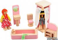 Мебель Ванная Мир деревянных игрушек (Д274)