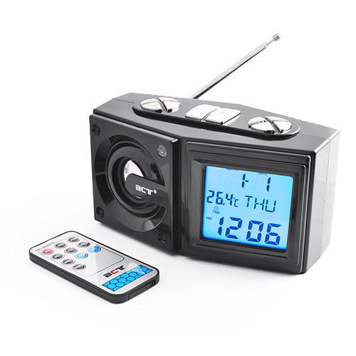 Часы 786, радио FM, USB, SD