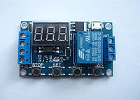 6-30В Релейный программируемый модуль времени, реле, циклический таймер