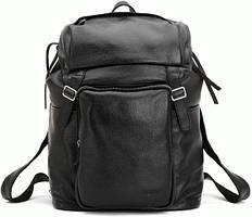 Оригинальный кожаный рюкзак t3067, черный