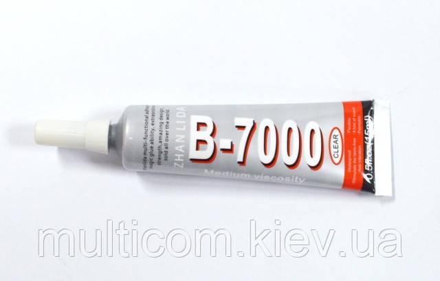 15-01-001. Клей герметик В7000, 15мл, прозорий