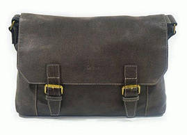 Мега модная и винтажная кожаная сумка на плечо, K21903-2, Коричневый