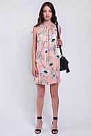 Короткое женское платье летнее